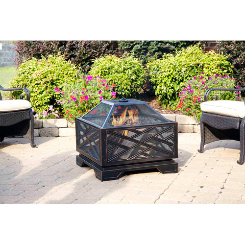 "Pleasant Hearth 26"" Martin Extra Deep Fire Pit"
