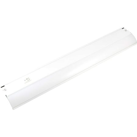 GE Direct Wire LED Under Cabinet Light Fixture, 18in, Dimmable,