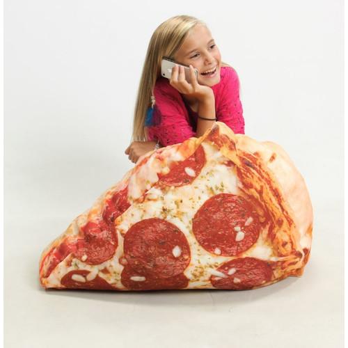 Wow Works Kid's Pizza Bean Bag Chair