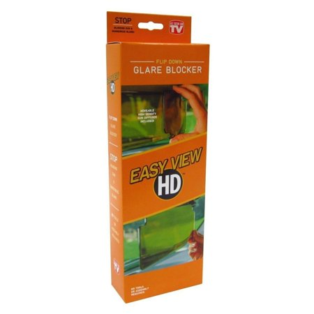 Easy View Hd As Seen On TV Sun Shade Visor anti glare sun zapper -  Walmart.com 8e2eb294aff