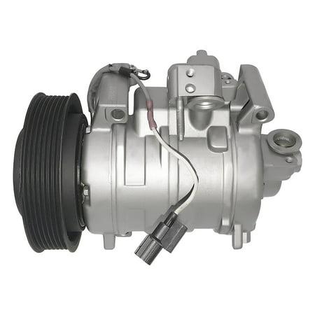 RYC Remanufactured AC Compressor and A/C Clutch AEG333 Fits 2008 2009 2010 2011 2012 Honda Accord 2.4L ()