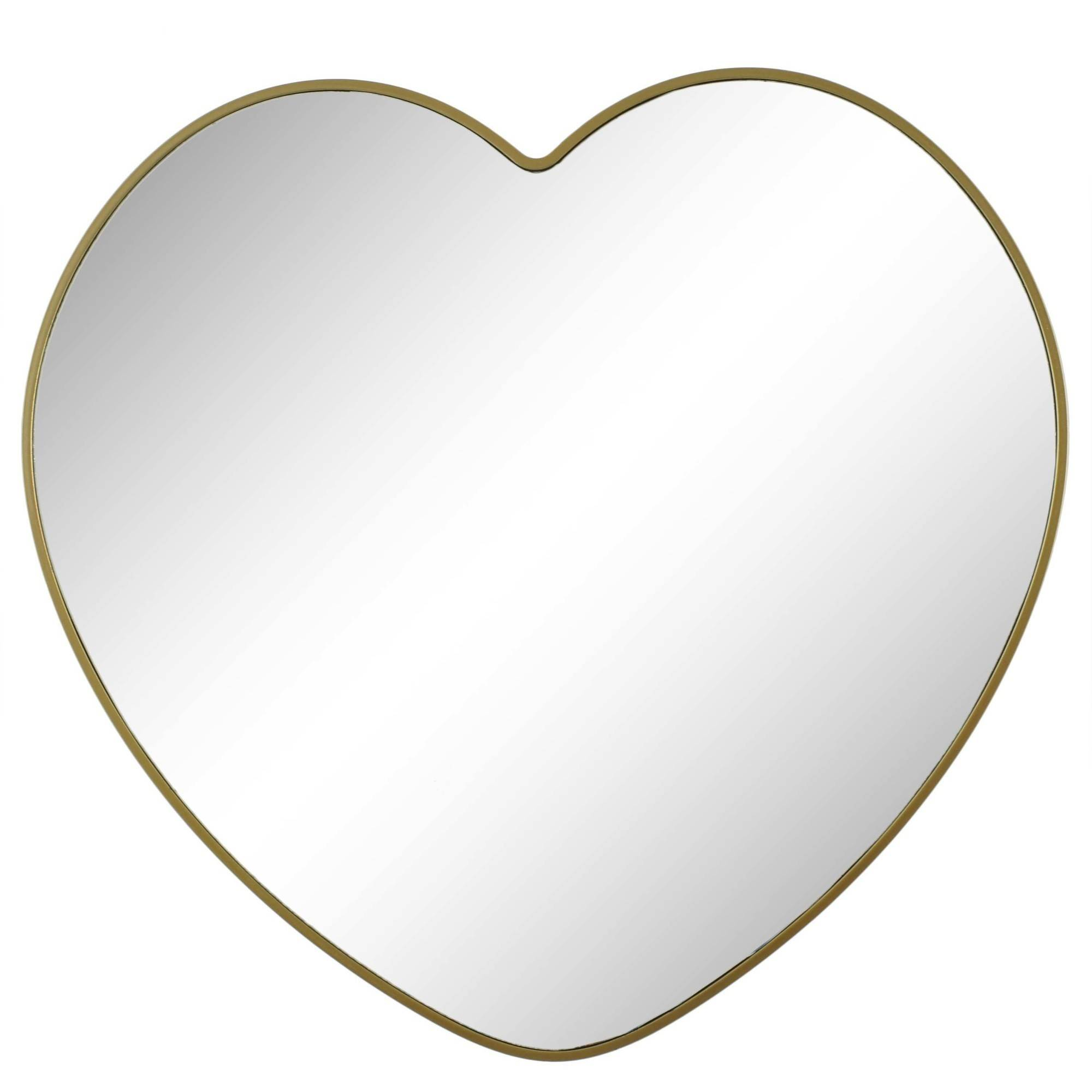 "Better Homes and Gardens 15.5"" (39.37 cm) Heart Mirror by"