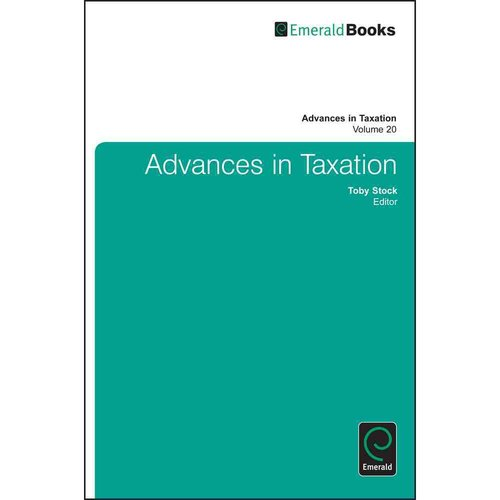 Advances in Taxation, Volume 20