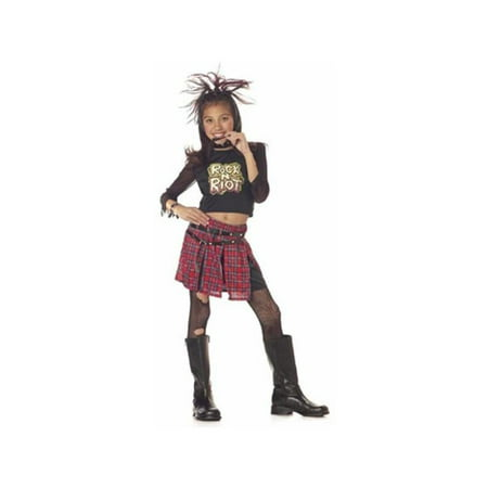 Child's Rock and Roll Riot Girl Costume