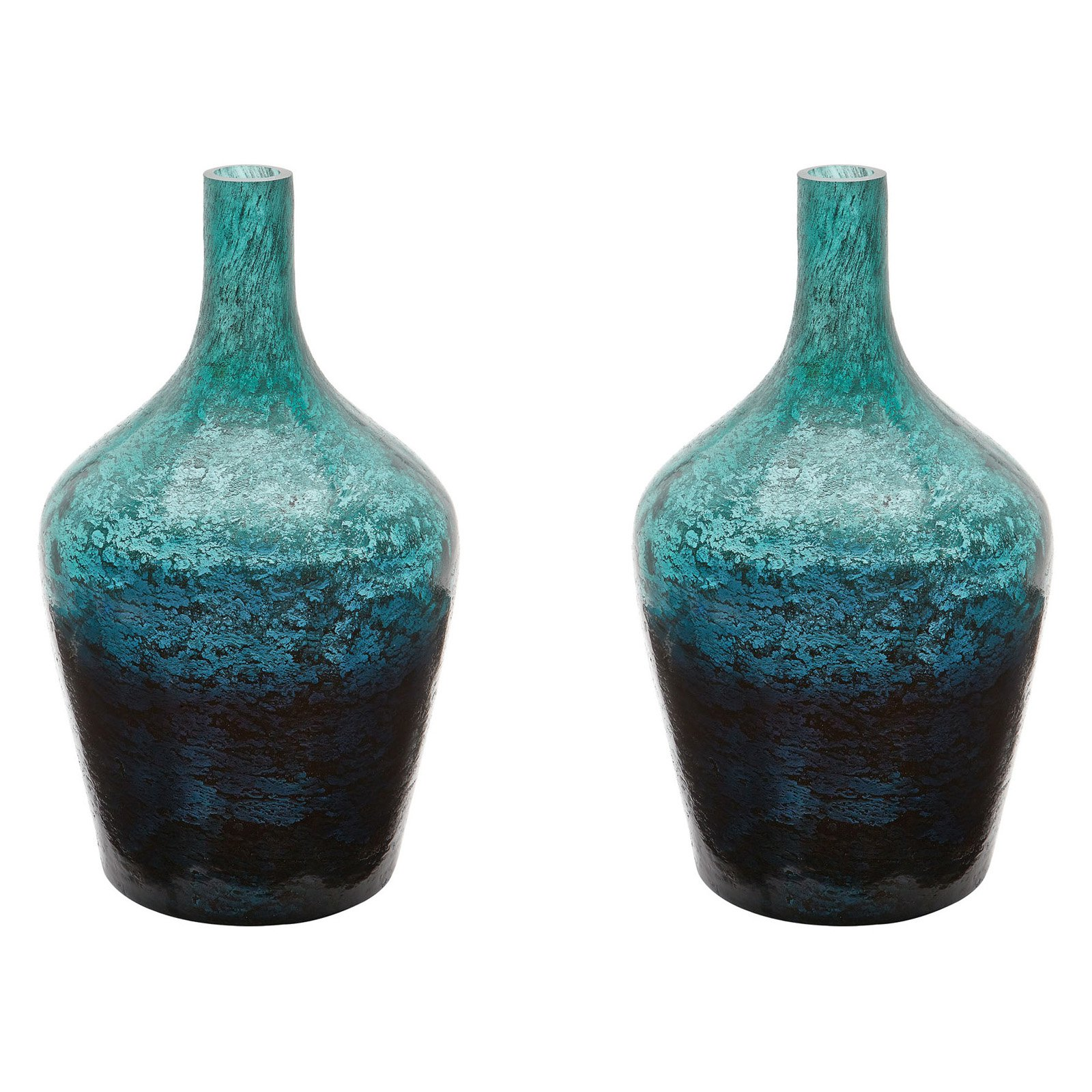 Dimond Home Emerald Ombre Bottle - Set of 2