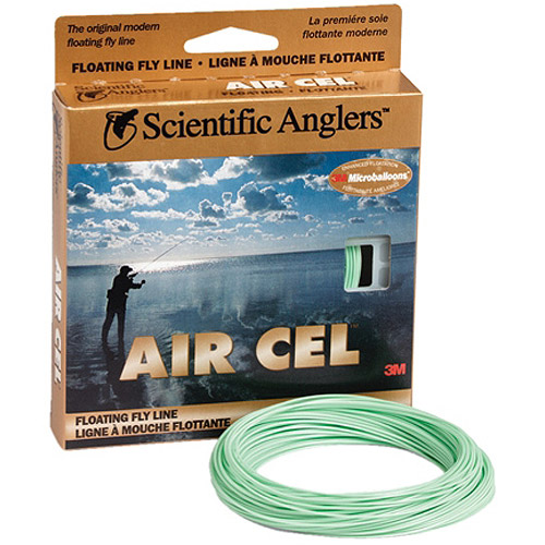 Scientific Anglers Air Cel Floating Fly Line-WF-5-F-Yellow 103817