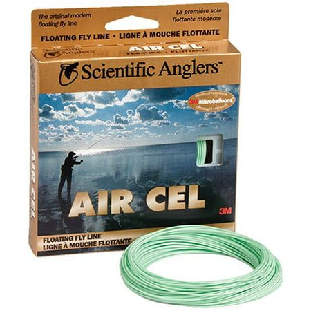 Scientific Anglers Air Cell Fly Line, Size 5, Level Green ()