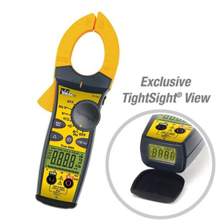 Ideal 61-763 660AAC TightSight-amp;reg; Clamp Meter with TRMS Capacit