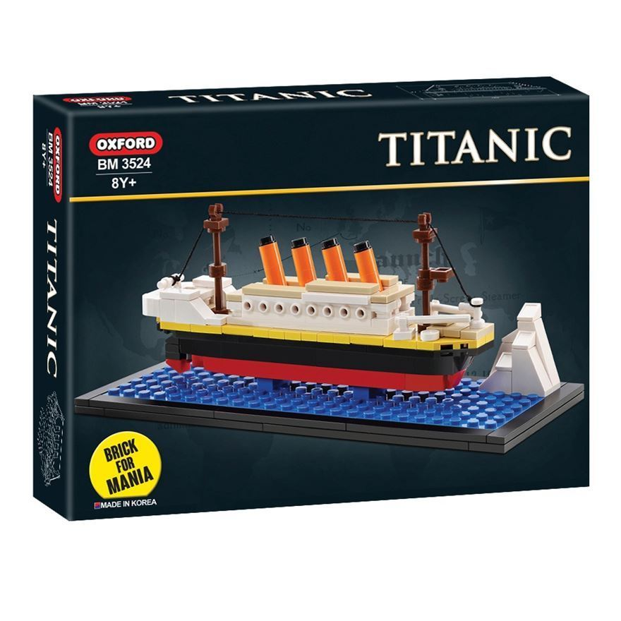 IMEX/Oxford Miniature Titanic LEGO? Compatible 239 piece Block Set