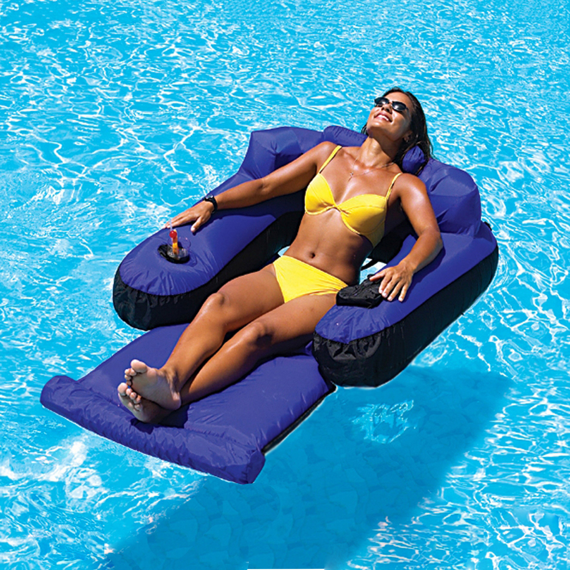 Attirant Swimline Ultimate Floating Pool Lounger