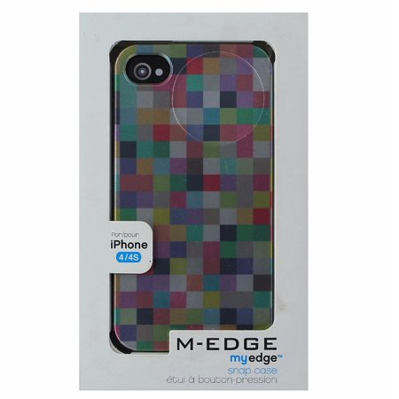 M-Edge My Edge Series Protective Case Cover for iPhone 4S 4 - Multi
