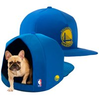 Golden State Warriors Plush Pet Nap Cap - Blue - No Size