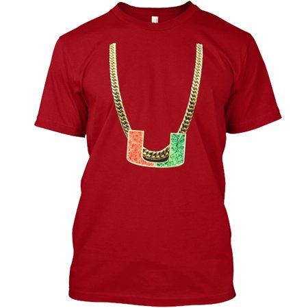 Miami Turnover Chain Shirt Hanes Tagless Tee T Shirt