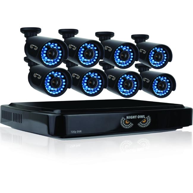 NIGHT OWL - OBSERVATION & SECURITY NIGHT OWL B-A720-162-8 HD720P 8X16CH AHD 2TB HDD