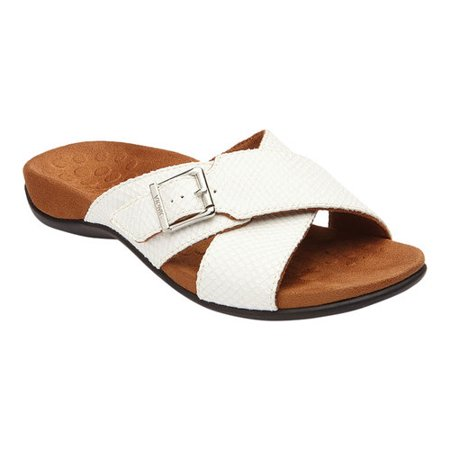 eabba5500c36f Vionic - Women's Vionic with Orthaheel Technology Dorie Cross Strap Slide -  Walmart.com