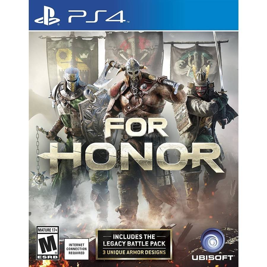 For Honor Day 1 Edition, Ubisoft, PlayStation 4, 887256015657