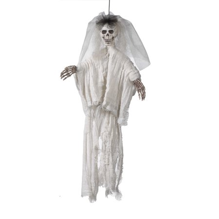 Ganz Halloween Skeletons (Hanging Light Up Ganz Female Halloween Skelton Decoration (20)