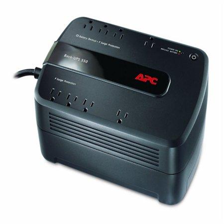 APC Back-UPS ES 550VA Desktop UPS - 550VA/330W - 3.3 Minute Full Load - 4 x NEMA 5-15R - Battery Backup System, 4 x NEMA 5-15R -