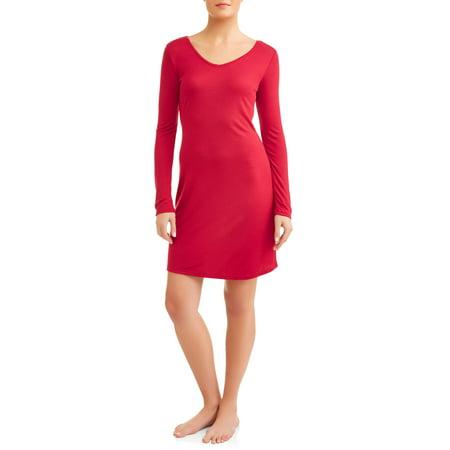 Carole Sleepshirt - Gloria Vanderbilt Women's and Women's Plus Laura B Sleep Shirt