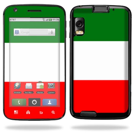 Mightyskins Protective Vinyl Skin Decal Cover for Motorola Atrix 4G Cell Phone wrap sticker skins  - Italian