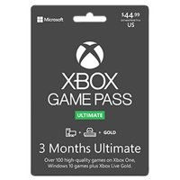 Xbox 3 Month Game Pass Ultimate, Microsoft, Xbox [Digital Download]