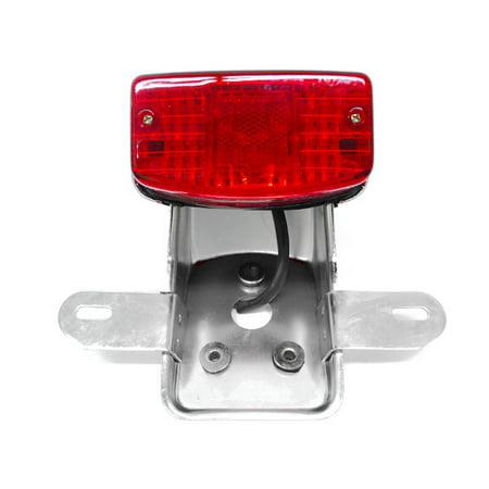 Krator NEW Custom Taillight Brake Rear Tail Light Lamp For Triumph Daytona Scrambler Bonneville Avenger -  TL034-V18
