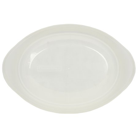 Corningware Replacement Lid 1.5Qt Clear Oval Storage Cover for French White Baking Dishes (sold separately)