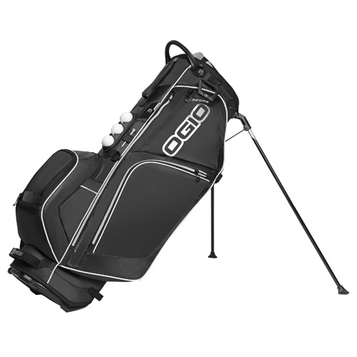 New Ogio Ozone Stand Bag - Buzz Saw Black