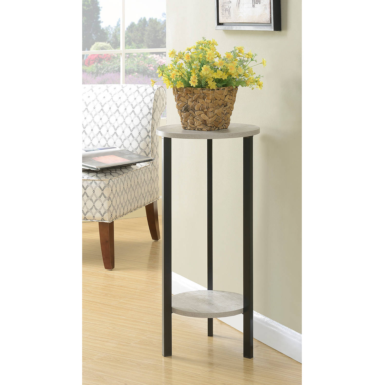 "Convenience Concepts Graystone 31"" Plant Stand by CONVENIENCE CONCEPTS, INC"