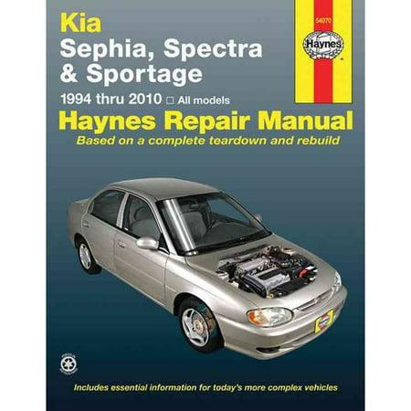 Haynes Kia Sephia  Spectra   Sportage 1994 Thru 2010 Automotive Repair Manual