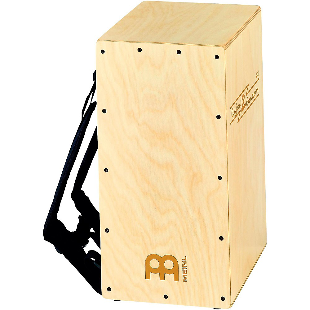 Meinl Backpacker Cajon with Internal Snares and Backpack Straps by Meinl