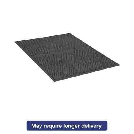 Guardian EcoGuard Diamond Floor Mat, Rectangular, 48 x 96, Charcoal (48 X 96 Mat)