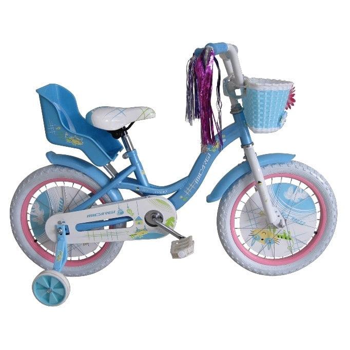 MICARGI INDUSTRIES Micargi 16-inch Girl Baby Blue Bicycle...