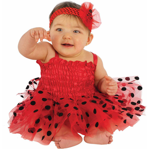 Ladybug Infant Tutu Dress Halloween Costume