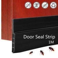 4/3/2/1PCS Under Door Draft Stopper Window Seal Strip Noise Stopper Windproof Insectproof Insulator Door Sweep Prevent Bugs