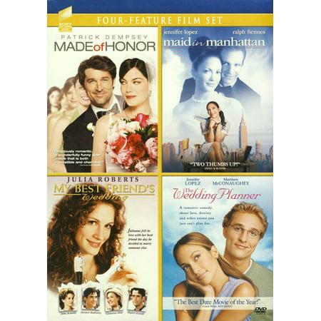Made of Honor / Maid in Manhattan / My Best Friend's Wedding / Wedding (DVD)