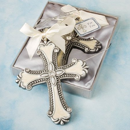 Decorative Cross Ornaments: Communion and Christening Party Favors, 18, 18 Pieces By Fashioncraft