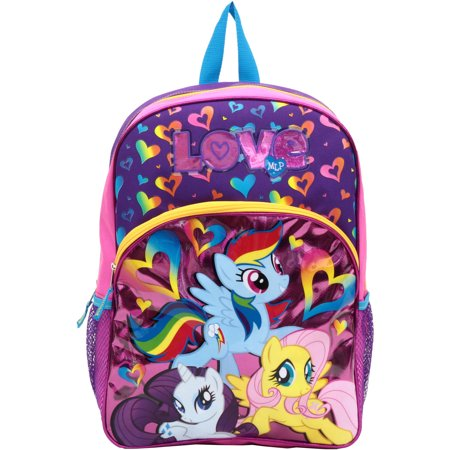 My Little Pony 16'' Love Kids Backpack - Walmart.com