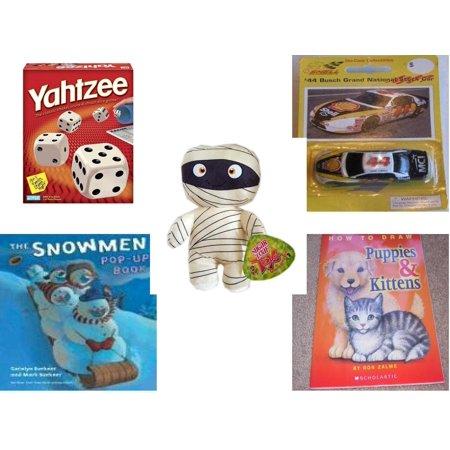 Mummy Pop - Children's Gift Bundle [5 Piece] -  Yahtzee  - #44 Bobby Labonte Busch Grand National Die Cast Stock Car  - Sugarloaf Kelly s Mummy Doll  11