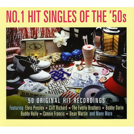 No. 1 Hit Singles Of The 50's (CD)