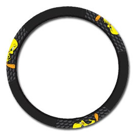 tweety bird car van suv steering wheel cover no shipping cost. Black Bedroom Furniture Sets. Home Design Ideas