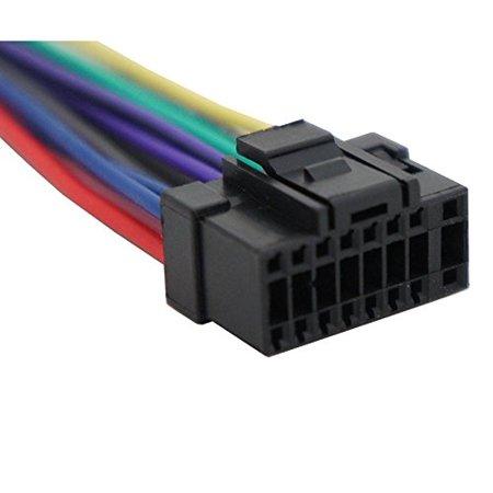 alpine wiring harness color ha alp16b alpine replacement 16 pin radio wire harness  harmony  replacement 16 pin radio wire harness