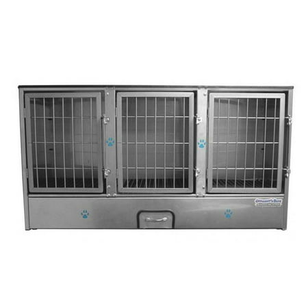 3 Unit Cage Bank - Fully