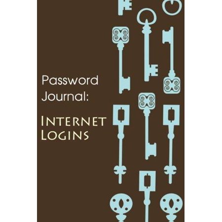 Password Journal  Internet Logins