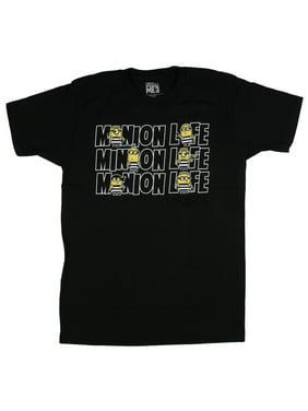 4b3da0488 Product Image Despicable Me Men's Minion Life Jail Gang Funny Graphic Tee  Shirt