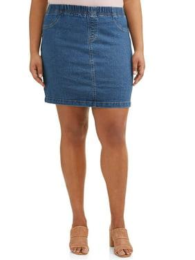 Realistic Vintage Womens Cherokee Blue Jeans Long Denim High Waist Skirt Size 12 Skirts
