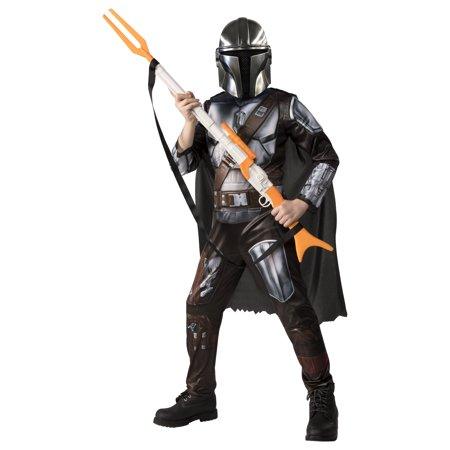 Child Movie Star Halloween Costume (Rubie's Star Wars The Mandalorian Halloween)