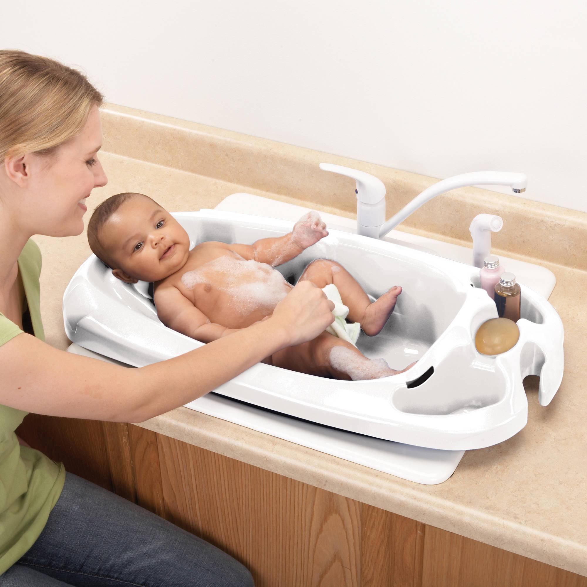 Safety 1st Newborn to Toddler Bath Tub, White