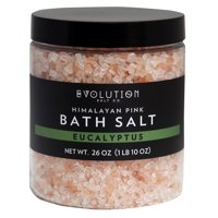 Evolution Salt Co Himalayan Bath Salt Coarse Grind, Eucalyptus, 26 Oz