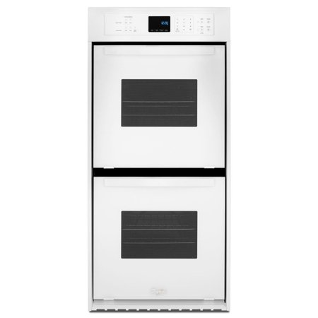 Whirlpool 24 Inch Double Electric Wall Oven White